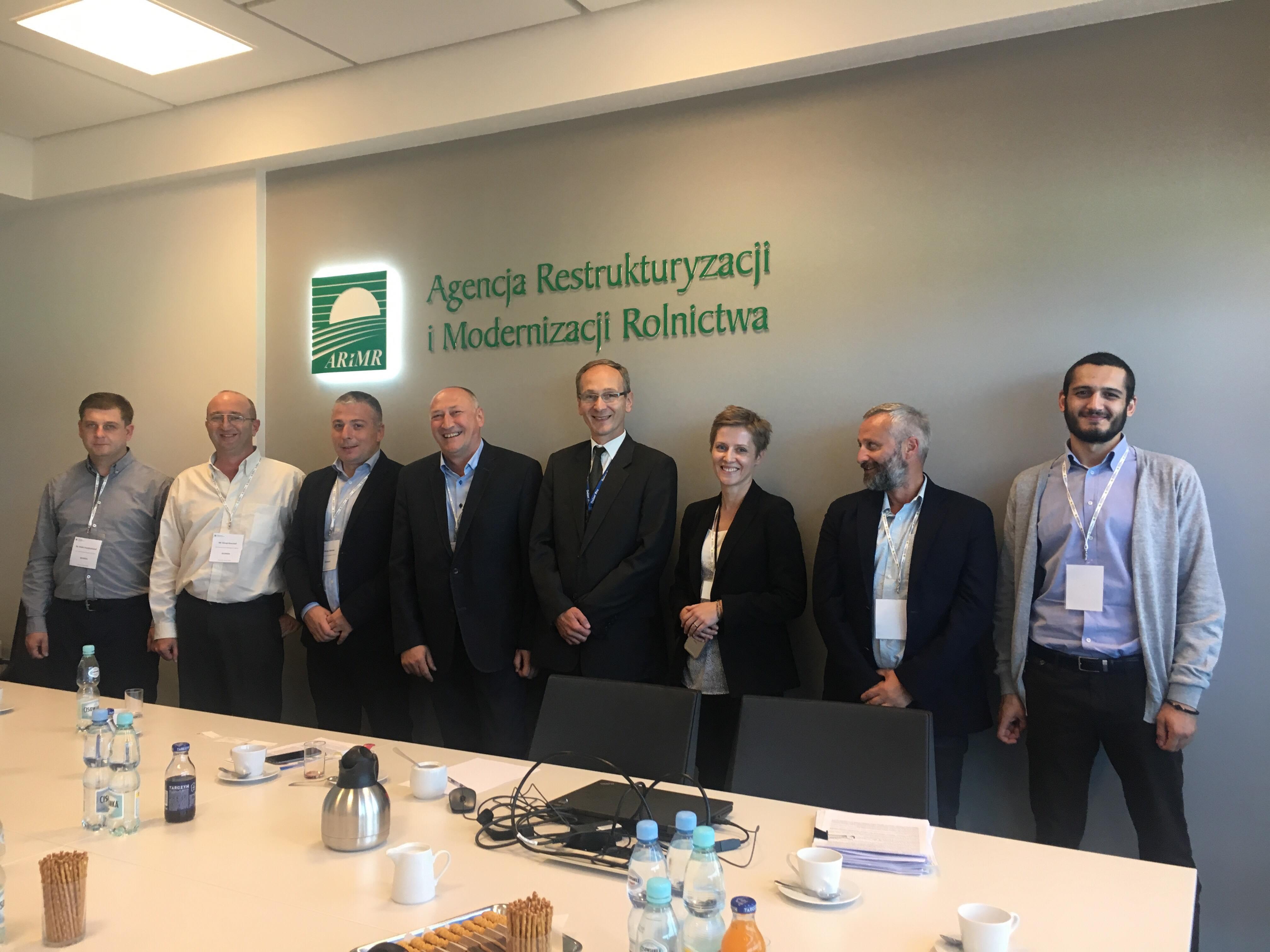 Wizyta delegacji z Gruzji