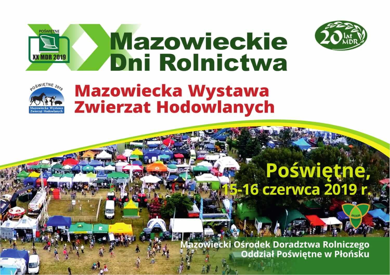 XX Mazowieckie Dni Rolnictwa i Mazowiecka Wystawa Zwierząt Hodowlanych.