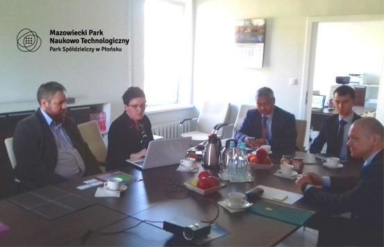 Wizyta delegacji z Indii w MPNT