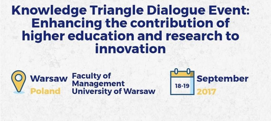 Knowledge Triangle Dialogue Event