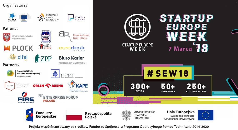 StartUp Europe Week 2018 - Płock