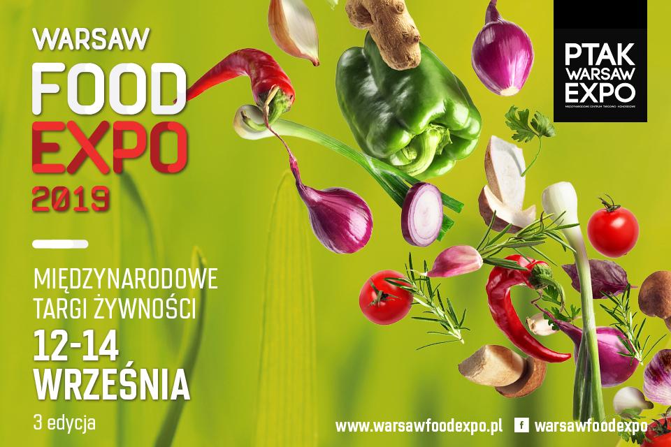 Warsaw Food Expo 12- 14 września 2019r.